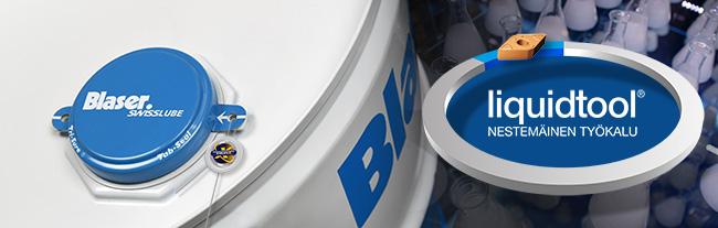 Blaser - Liquid Tool - Nestemäinen työkalu Leikkuuneste metallintyostoon Blaser Edufix lastuamisneste tyostoneste sorvaus koneistus tyostokone tyostojalki